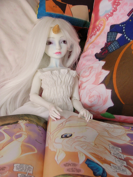 Amalthea daydreams by AcexKeikai