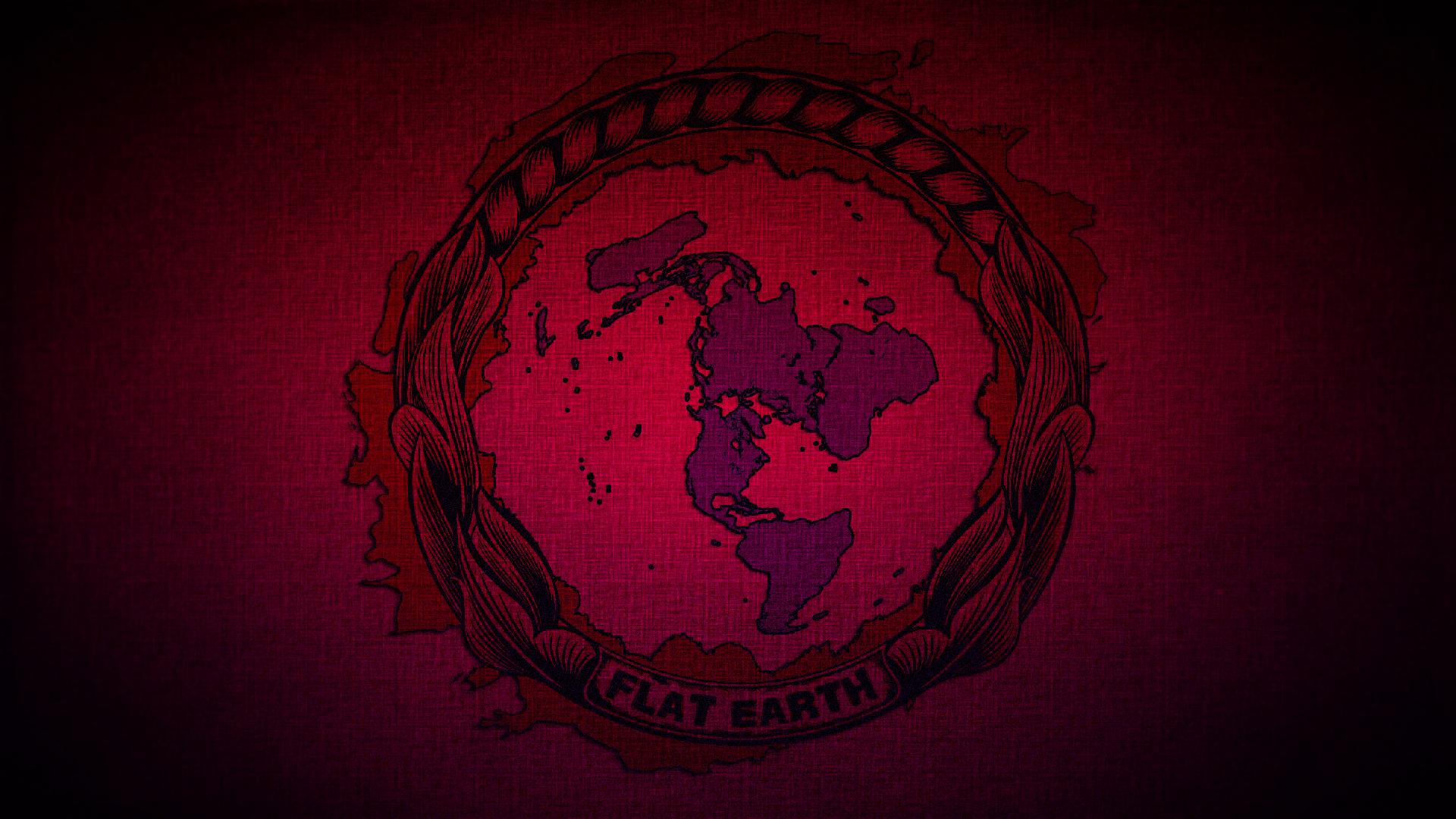 Flat Earth Desktop Background By Bibleflatearth On Deviantart