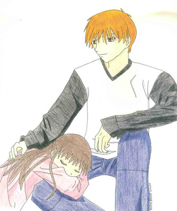 Kyo And Tohru By Dragondiva3 On DeviantArt