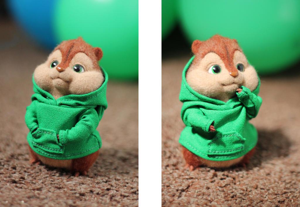 Yet Another Chipmunk Theodore By Irentoys On Deviantart