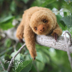 Two-toed sloth [stuffed toy] by Irentoys