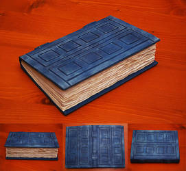 River Song Journal / Tardis Journal by Travasata