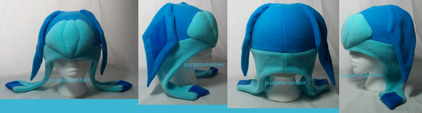 glaceon fleece hat by - photo #21