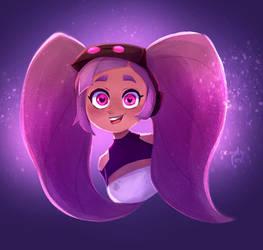 Chibi Entrapta by candyfoxdraws