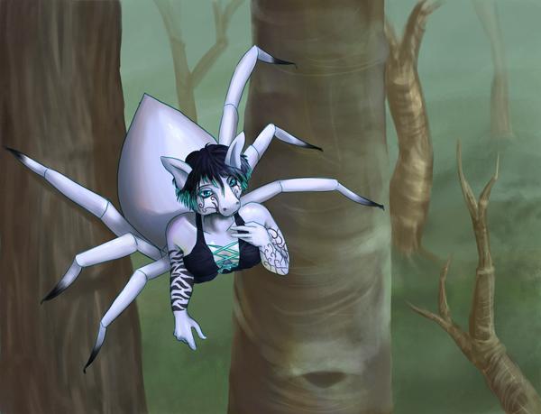 Pubg By Sodano On Deviantart: Anthro Spider By Plumthedragon On DeviantArt