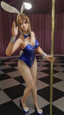 Bell bunny girl render