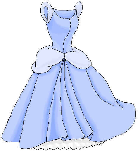 Princess Dress Cinderella By Shimmey1001 On Deviantart How To Draw A Disney Princess Dress Free Coloring Sheets