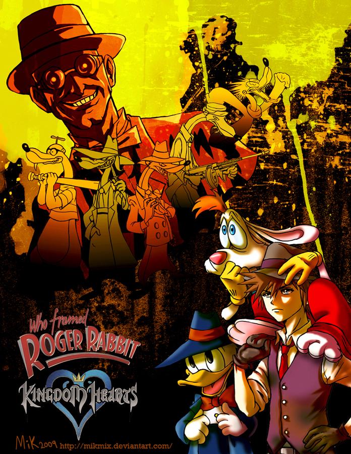 KingdomHeartsXRogerRabbit by mikmix