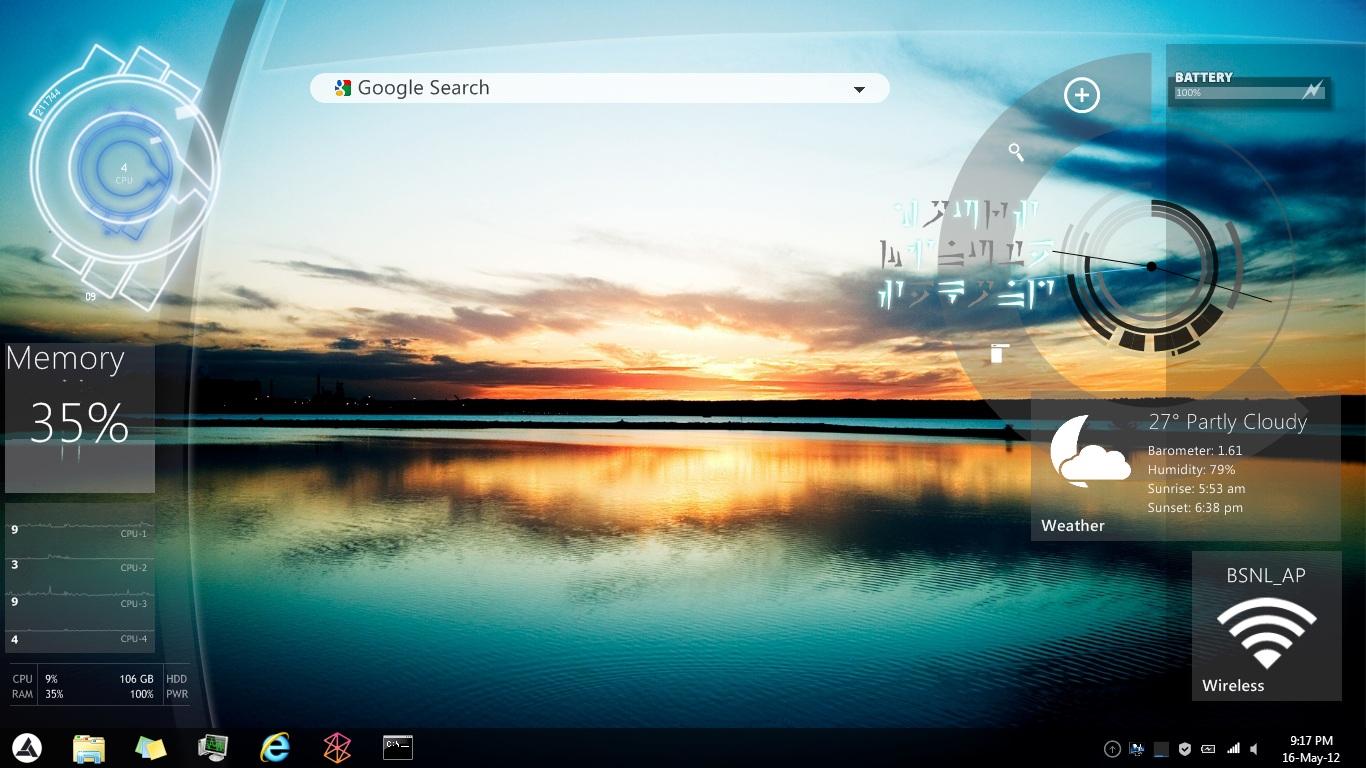 how to clean up desktop windows 10