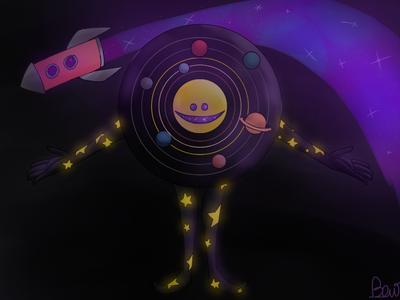 more scoory universe guy  by rainbowthelnwza