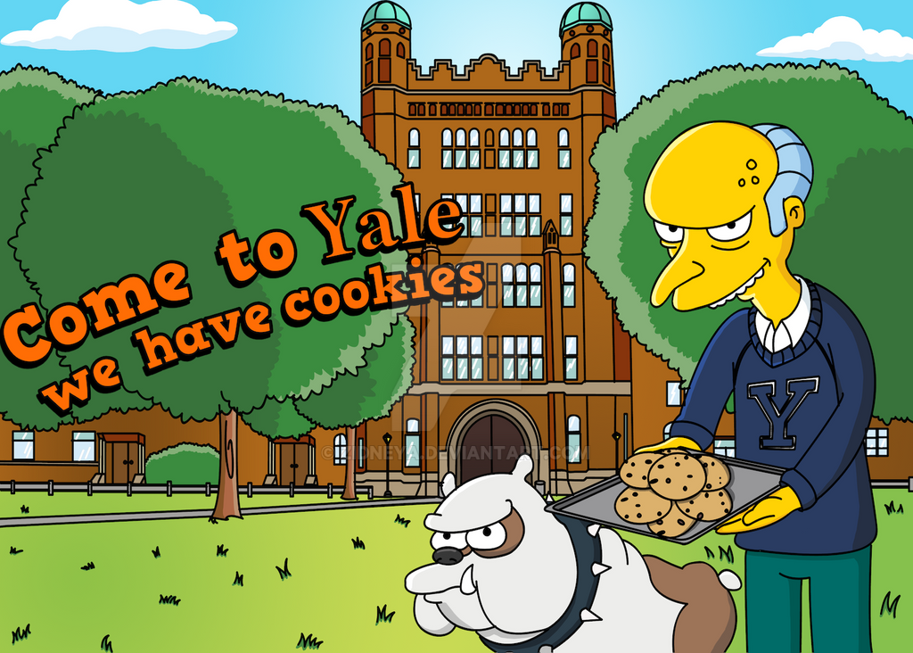 Come to yale we have cookies