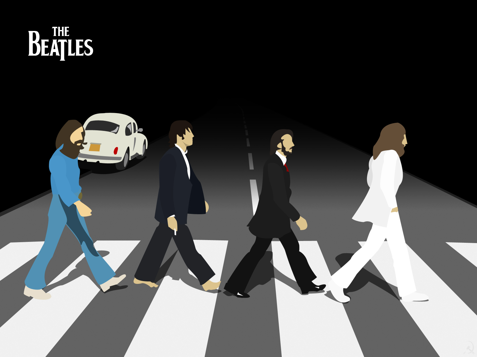 Beatles Abbey Road By Cool Kid Wannabee