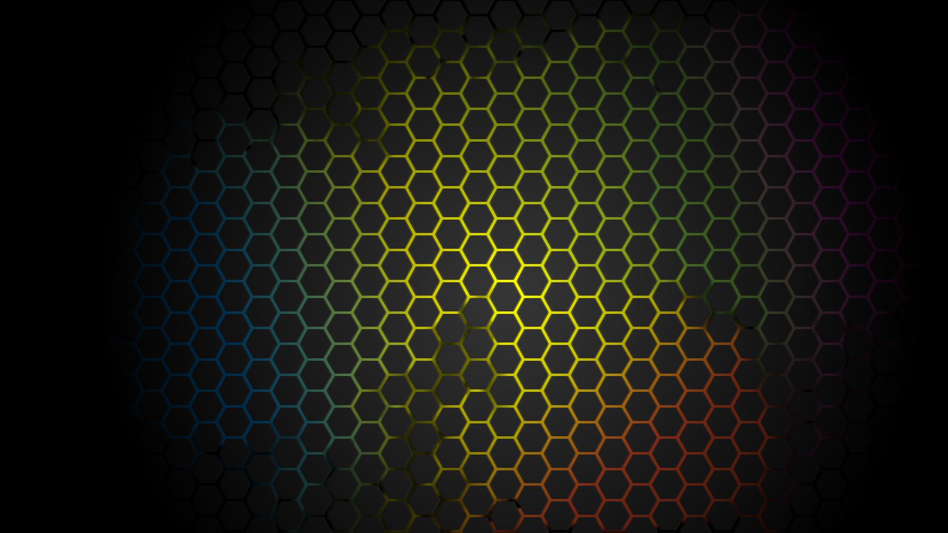 Wallpaper beehive yellow white honeycomb hexagon #ffff00 # ... |Yellow Honeycomb Wallpaper