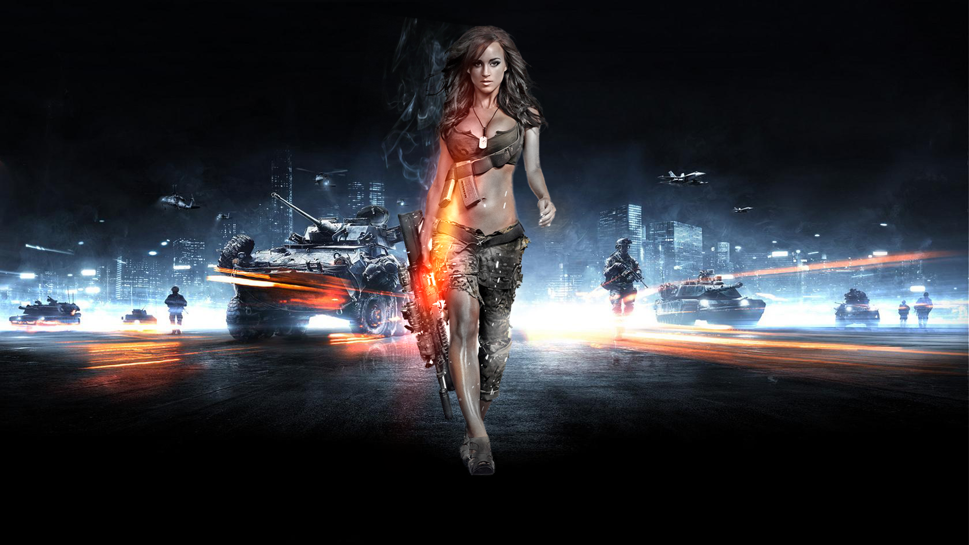 Sexy Battlefield 3 Wallpaper By K3nny94 Watch Fan Art Games