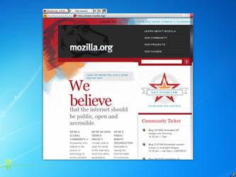 Firefox 5 concept beta