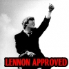Lennon Approves by teamfreewillangel