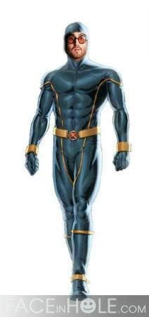 Sean Lennon as Cyclops by teamfreewillangel