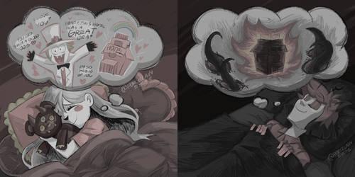 charlastor day 3 - dream/nightmare