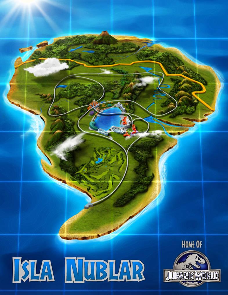High Resolution Isla Nublar Map by TeslaRex on DeviantArt on azores map, nauru map, isla sorna dinosaur map, antigua map, greenland map, isla pena, guyana map,