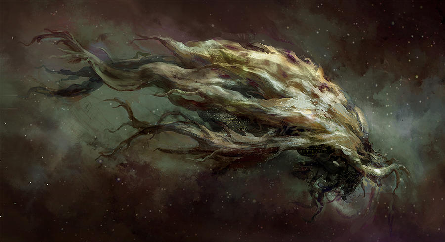 Hyperion Tree Ship Iggdrasyl by rehailHyperion Shrike Tree