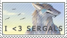 I Heart Sergals Stamp - Free Use by JustifyMySanity