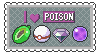 Poison Type Lover Stamp