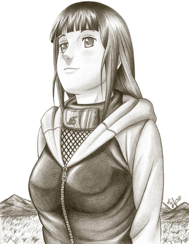 Dibujo de Hinata - Union Shinobi