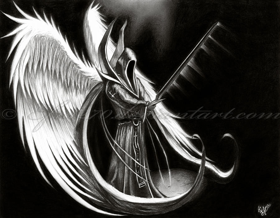 angel of death wallpaper. Angel of Death by ~Efra270 on