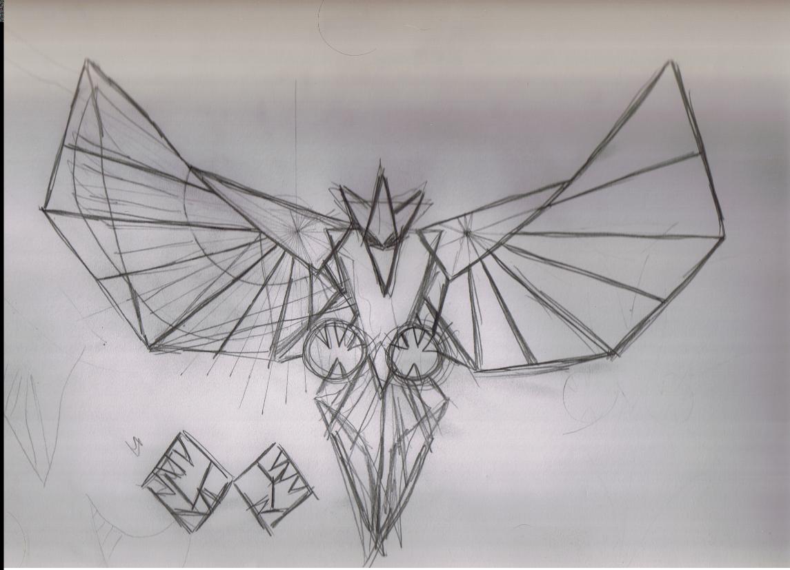 Romulan Bird Tattoo Concept by silvercliff on DeviantArt