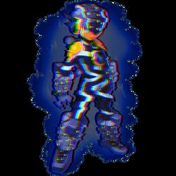Bug Style Megaman Glitch