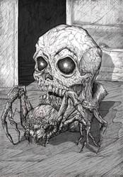 A Spider, A Skull by ManekiNeko11