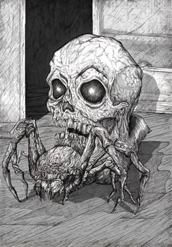 A Spider, A Skull
