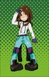 Biker Girl Colored Version