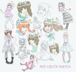 Moi Lolita Sketch