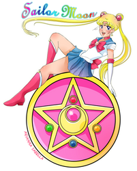 Sailor moon by Arukia