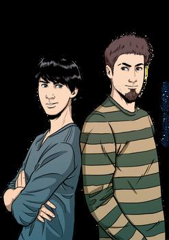 Matt and Allen