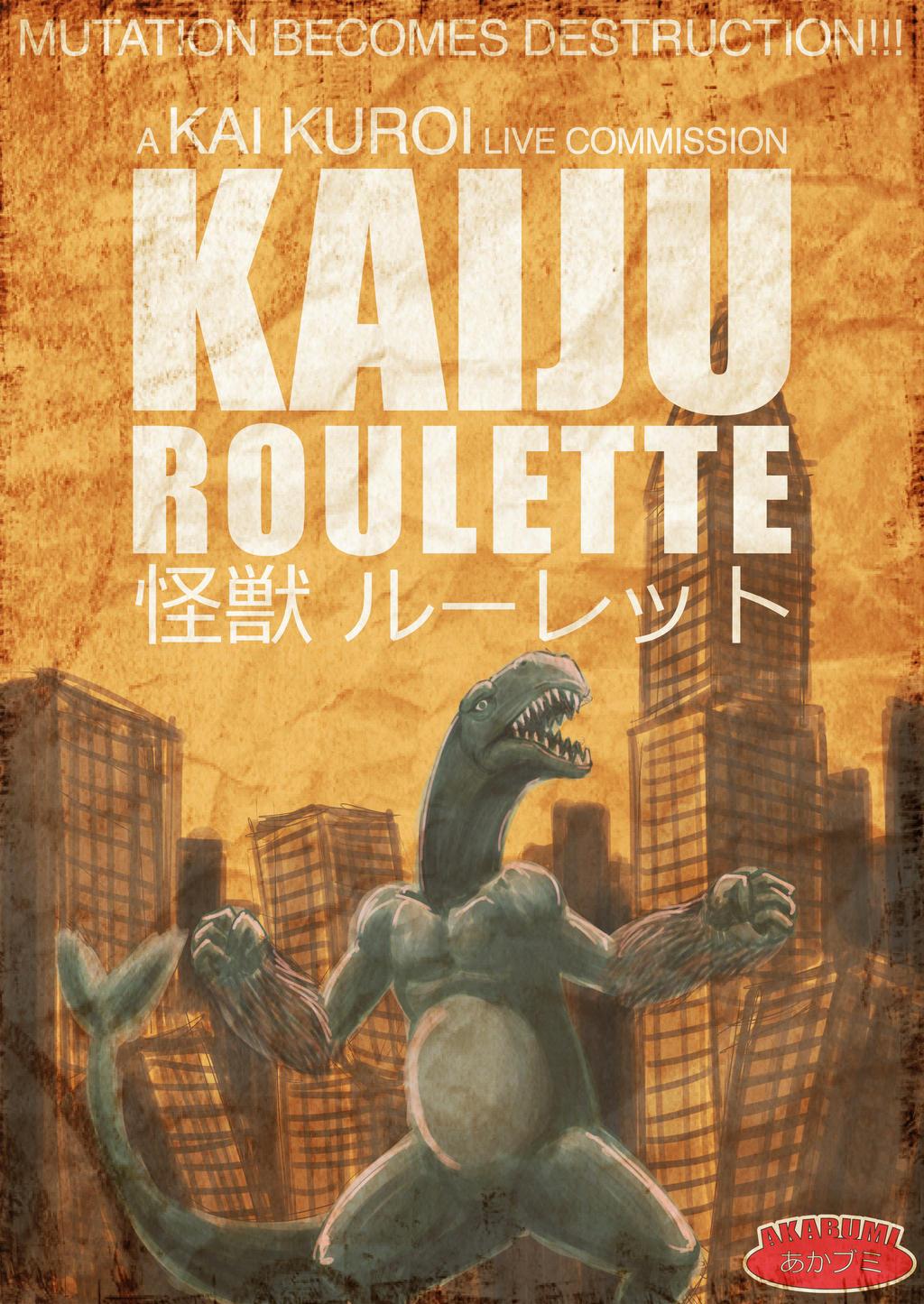 KAIJU ROULETTE at COMIC FIESTA 2014 by KuroiKai-tmk