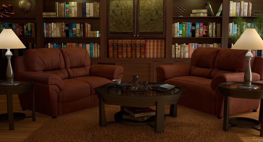 Reading Room by xxtjxx