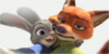 Matching Zootopia Icons by Kit-sunebi