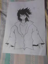 Sasuke Uchiha by ThroneGamer