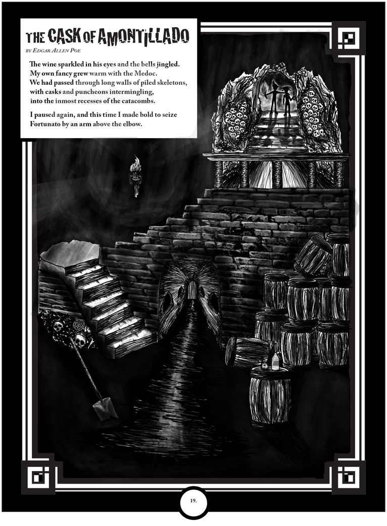 reflection of the cask of amontillado Cask of amontillado is that one can reach a personal resolve concerning casket of the collected heap, i am positive the latter is a truer reflection of.