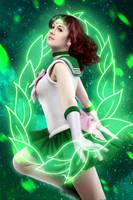 Sailor Jupiter - Guardian of love and courage by Veliya
