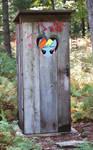 Outhouse - Rainbow Dash