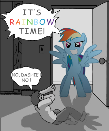 It's Rainbow Time! by normanb88
