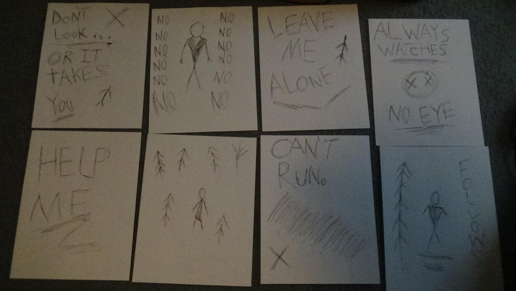 6e903677d6b slender man's pages (hand-drawn) by synnibear03 on DeviantArt