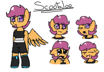 Scootaloo chibi by synnibear03