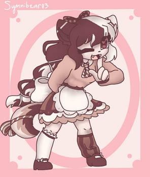 Cream kitty (Commission)