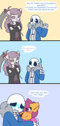 Kolby is a meanie by synnibear03