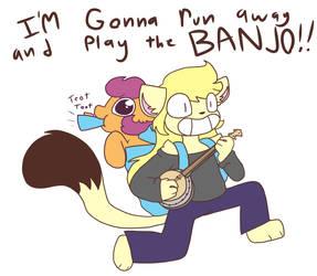 Banjo kazooie by synnibear03