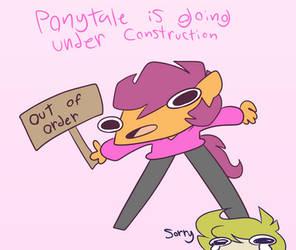 Ponytale broke by synnibear03
